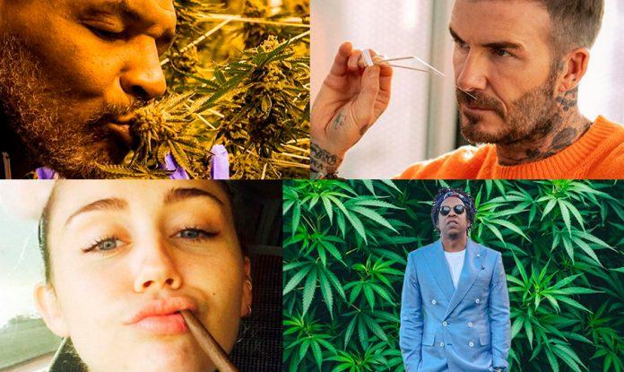 famosos de la industria de la marihuana
