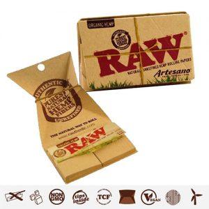 Papel RAW Artesano organic 1 1/4