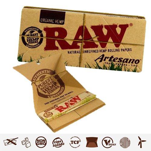 Papel de liar Raw King Size Artesano