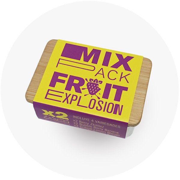 Caja mic pack fruit explosion