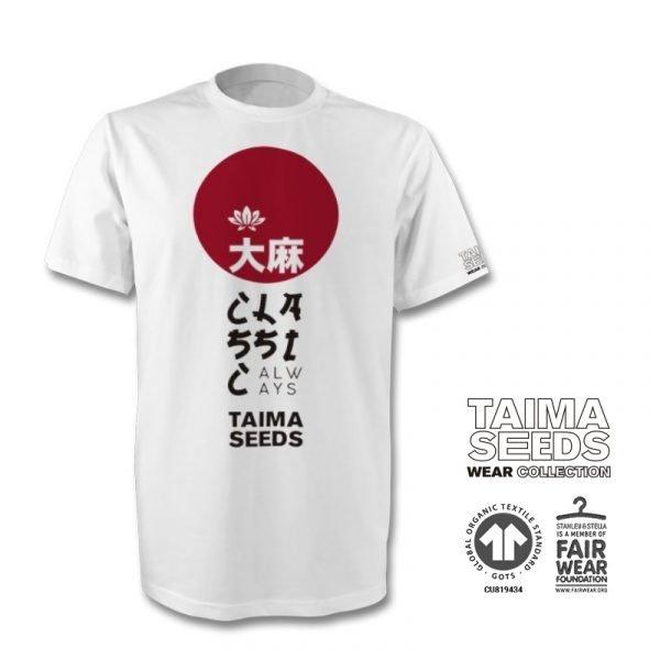 Camiseta Japan taima seeds blanca