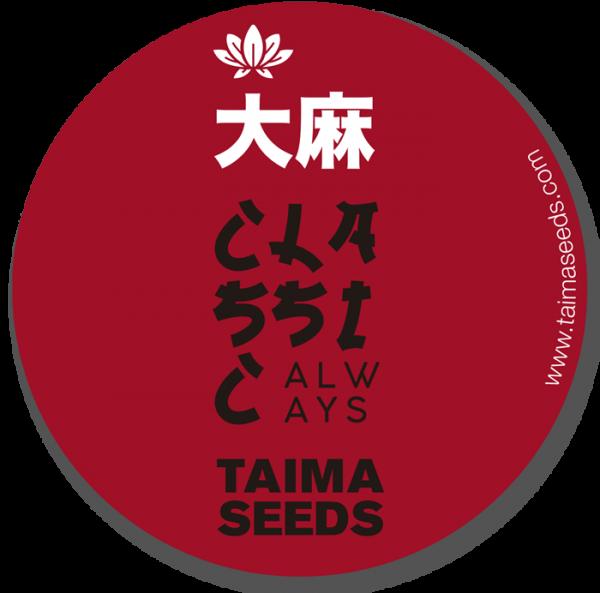 pegatina Japan taima seeds
